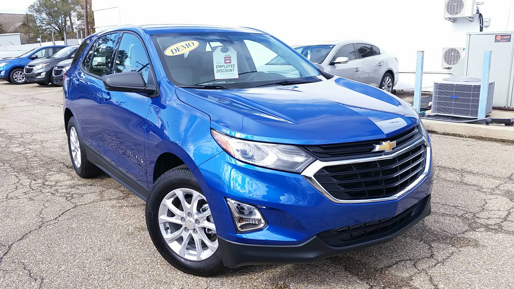 new Chevrolet Equinox at Ross Downing in Hammond and Gonzales