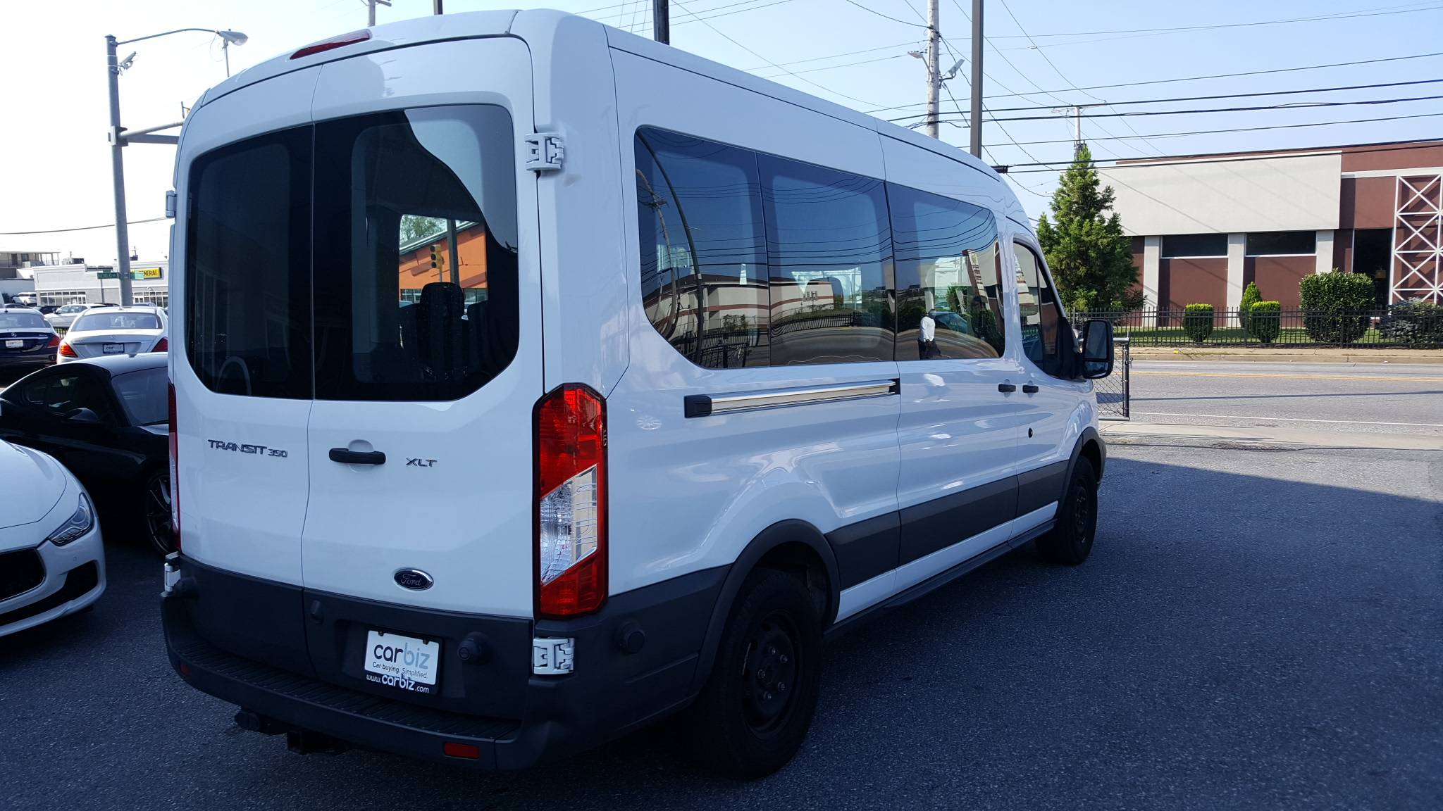 Pre-Owned 2017 Ford Transit Wagon XLT