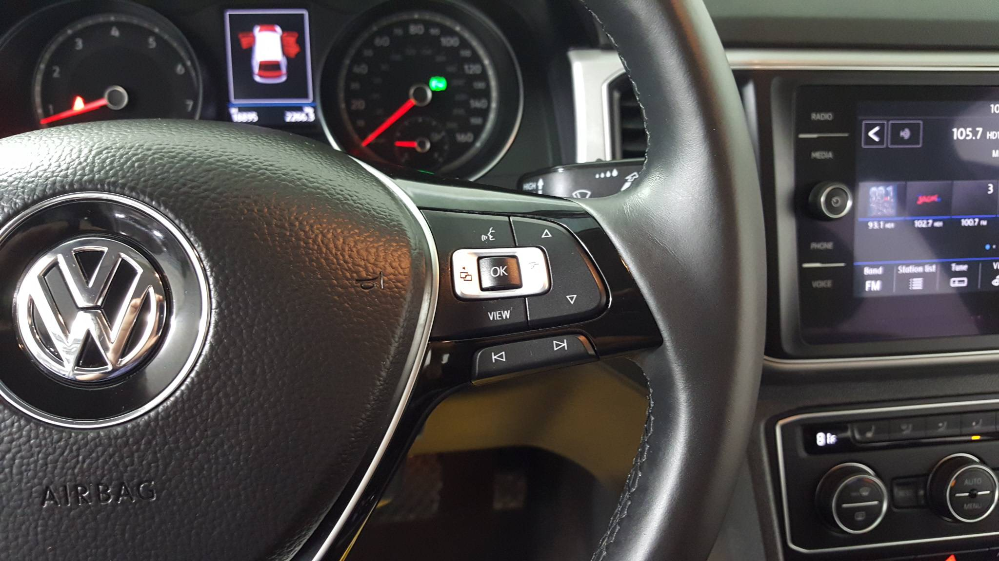 Certified Pre-Owned 2019 Volkswagen Atlas 3.6L V6 SE w/Technology