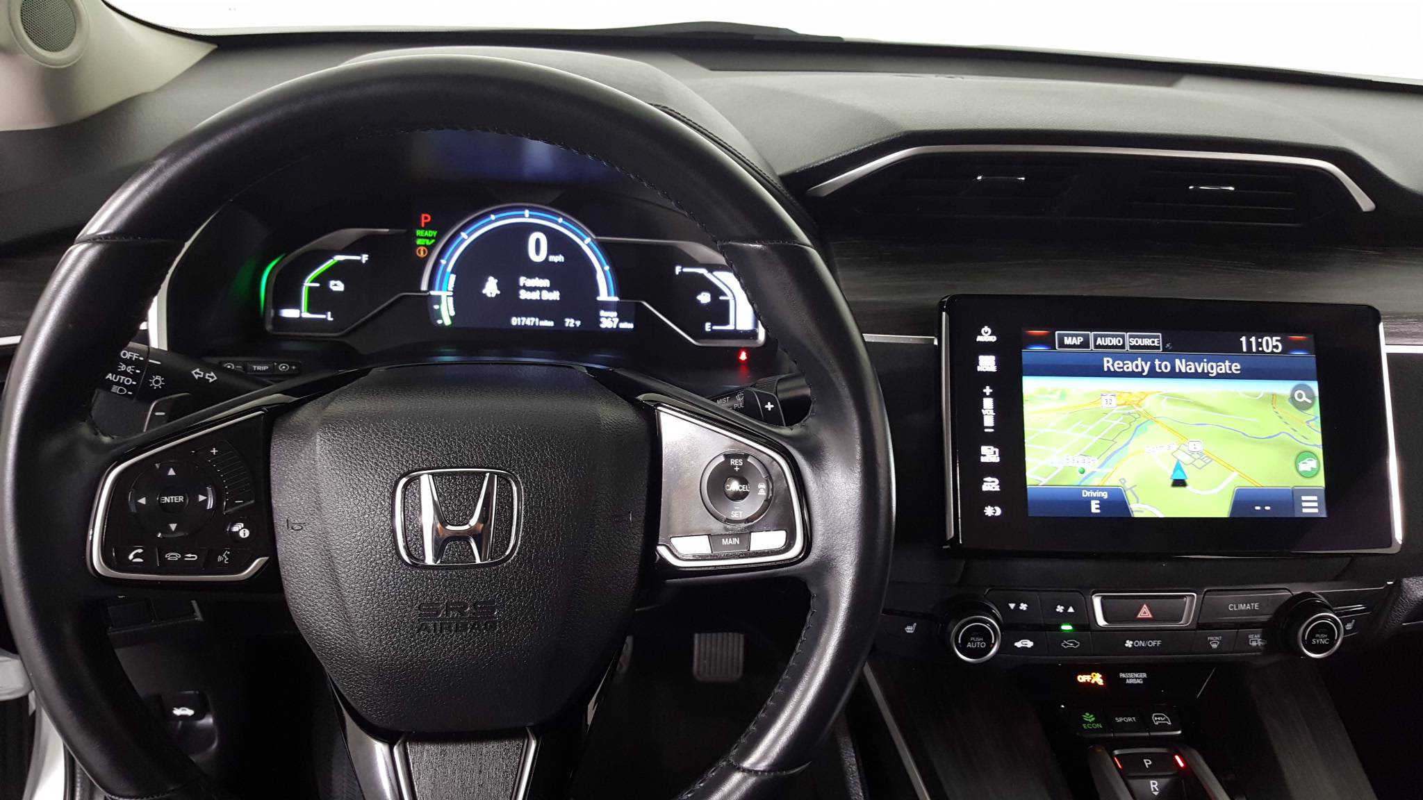 Pre-Owned 2018 Honda Clarity Plug-In Hybrid Touring