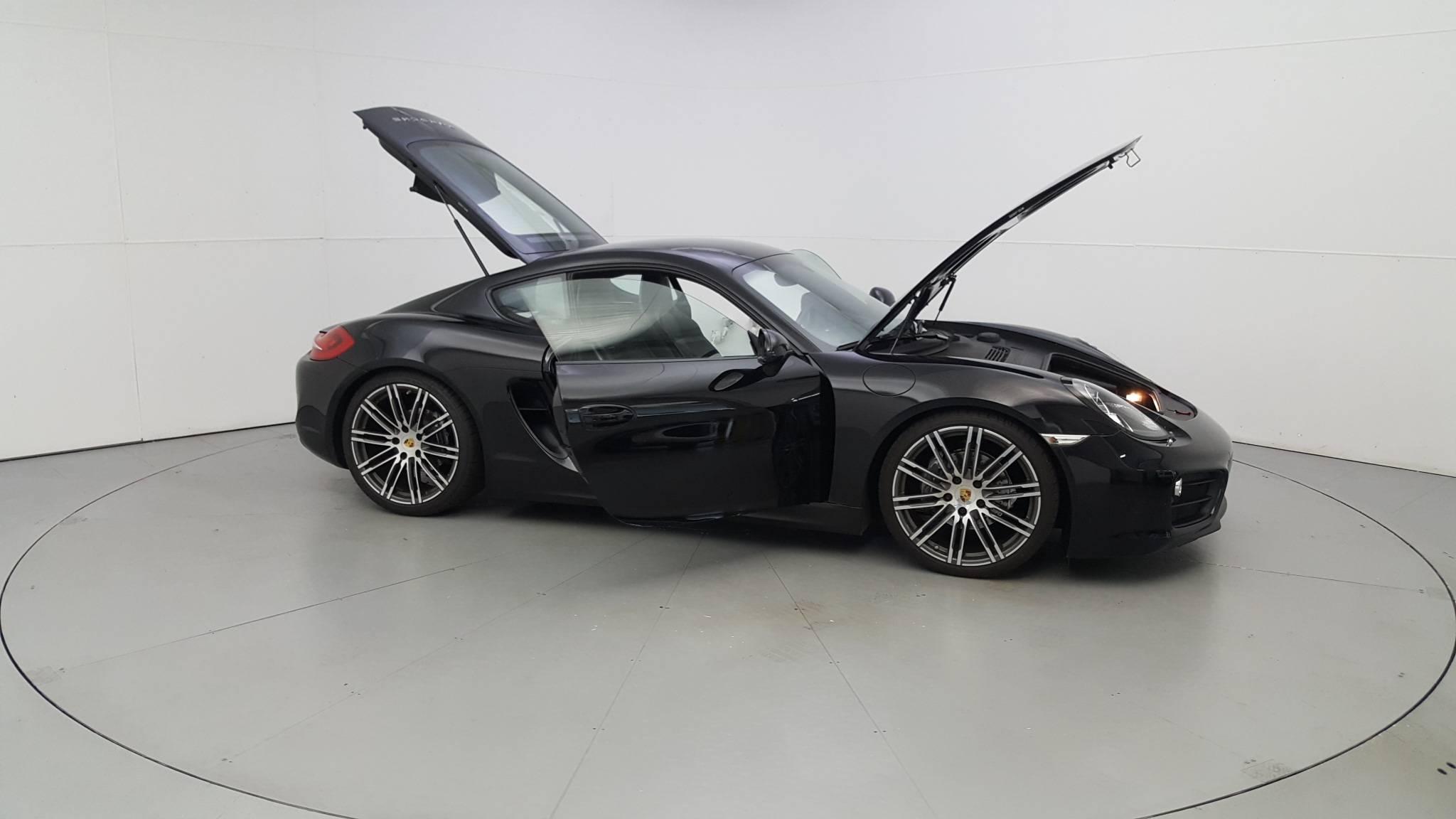 Pre-Owned 2016 Porsche Cayman Black Edition