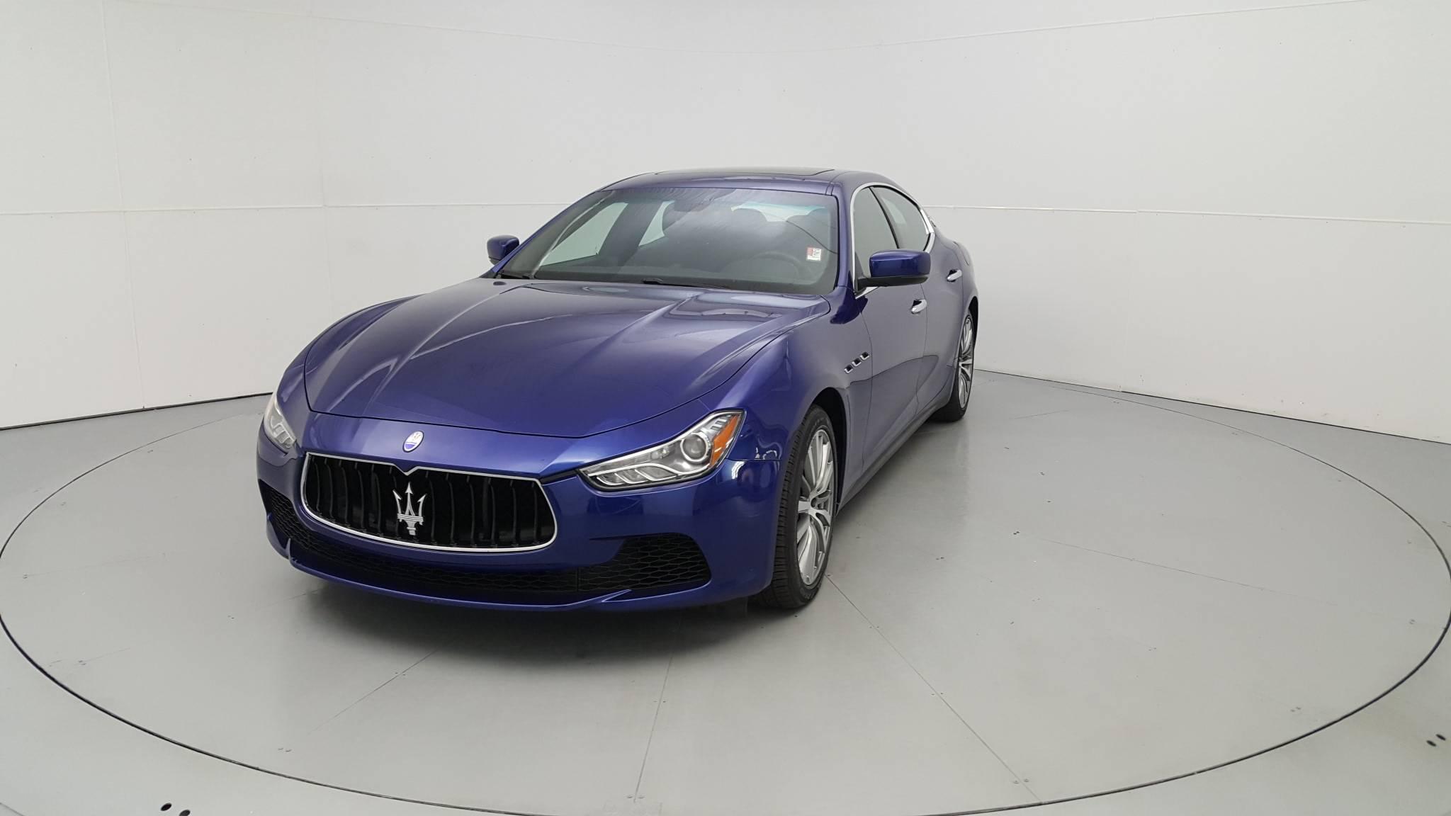 Pre-Owned 2016 Maserati Ghibli S
