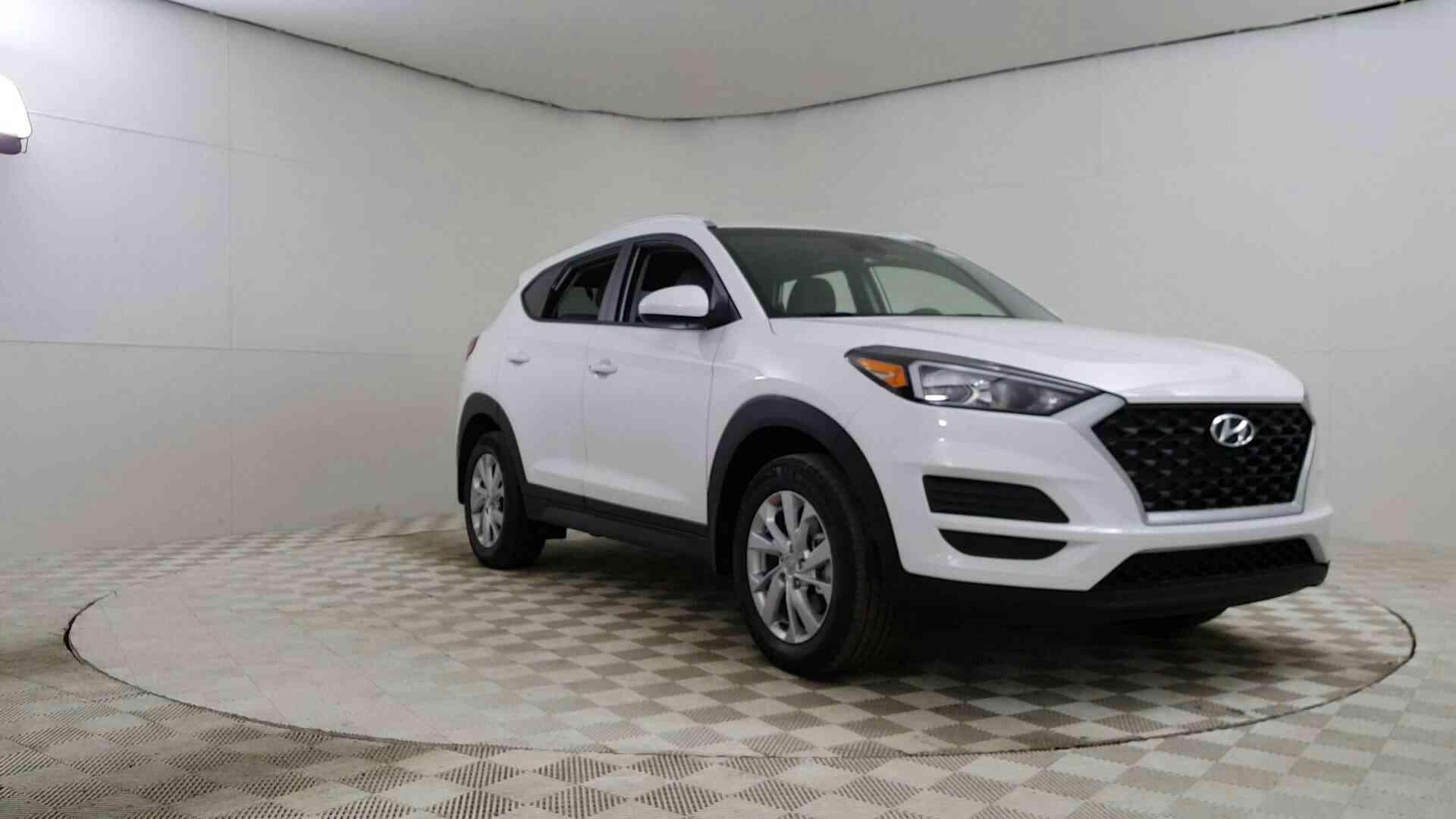 2019 Hyundai Tucson Value Awd Dazzling White Sport Utility A