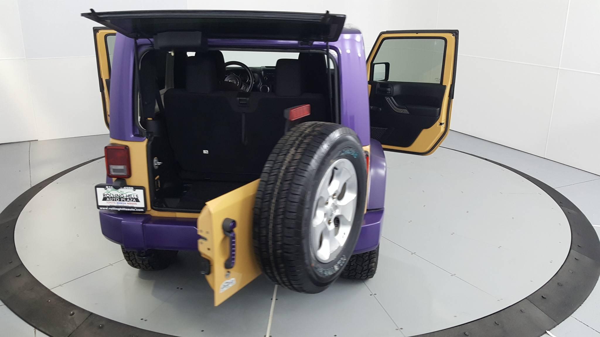 2013 Jeep Wrangler Sport Utility