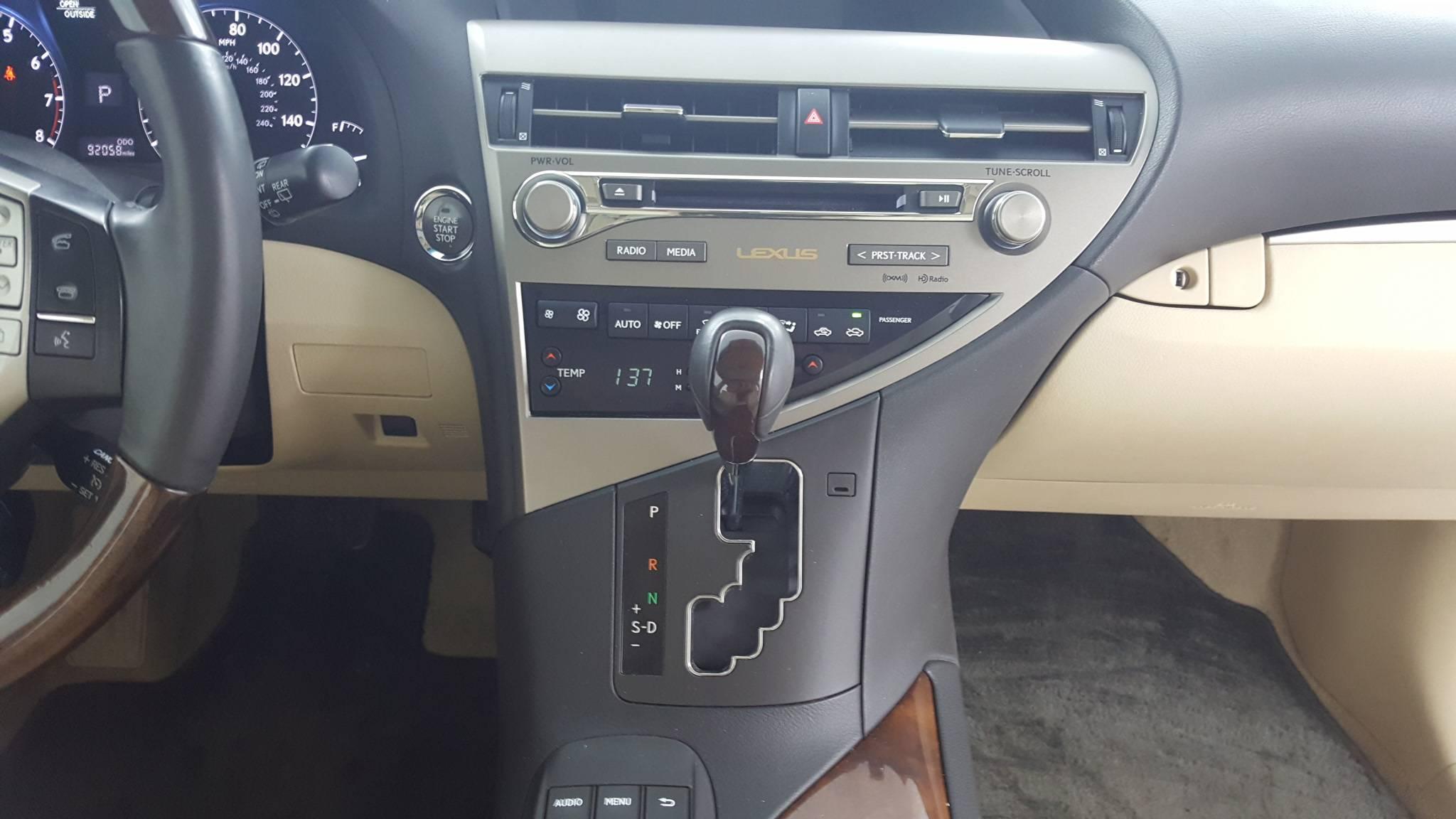 2013 Lexus RX Sport Utility