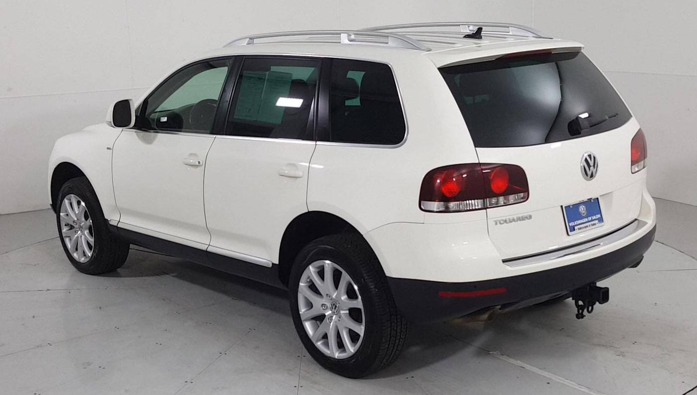 Used 2009 Volkswagen Touareg 2 Suv V6 Tdi Campanella White For Sale In Salem Or Stock V034003